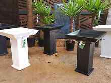 MODERN NEW $30 TERRAZZO STONE BIRD BATHS Wavell Heights Brisbane North East Preview
