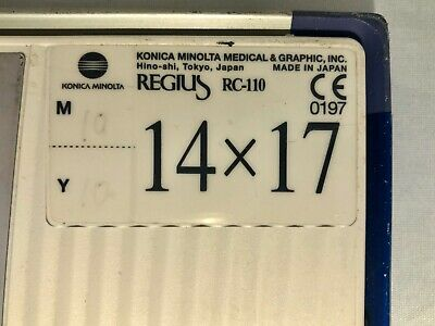 Konica Minolta Regius Rp-4s110 Cr System X-ray 114x17cassette Imaging Plate