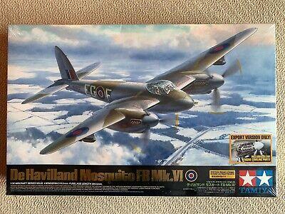 1/32 Tamiya De Havilland Mosquito FB Mk.VI (sealed) De Havilland Aircraft