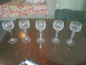 5 crystal glasses Stoneville Mundaring Area Preview