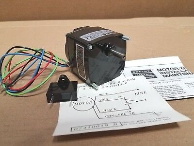 New Bodine Gear Motor Kci-23a2 14 Shafts 181 Ratio