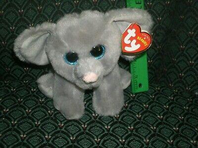 "TY Beanie Babies Boo's Whopper Elephant 6"" Stuffed Collectib"