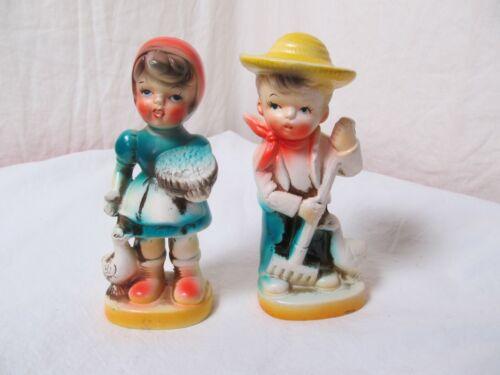 Davar Original Japan Vintage Boy and Girl
