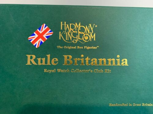 2001  RULE BRITANNIA   LION AND  PIN   NEW FROM STORE STOCK