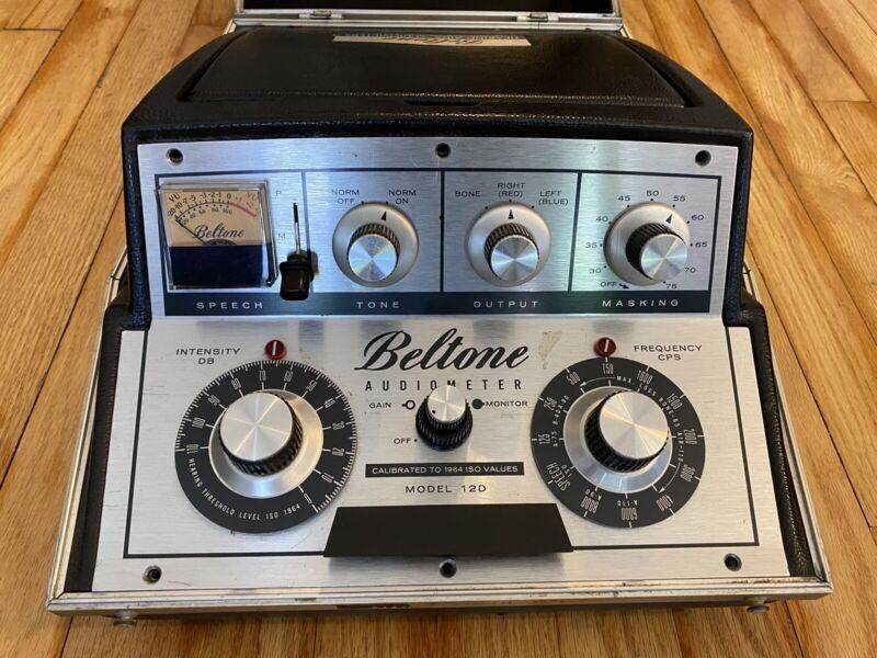 BELTONE Model 12D PORTABLE AUDIOMETER (2)