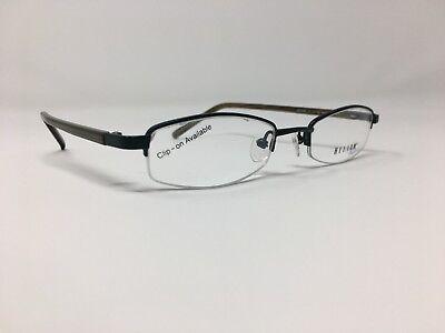 Authentic Helium Eyewear Eyeglasses 47-19-135 Plastic/Metal Italy Z509