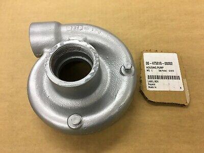 475010-00002 Hobart Pulper Recirculating Pump Housing Good Condition