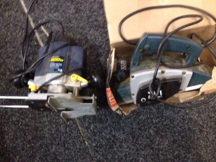 Router and electric planer Hillside 3037 Melton Area Preview