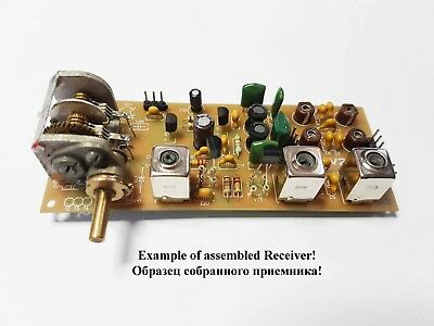 Simple 3-band Ham radio receiver direct conversion 7,14,21MHZ. new PCB! KIT DiY. ()
