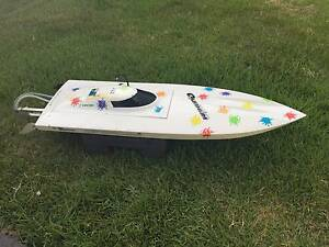 Radio controlled fast electric rc boat hull - motor - hardware Banyo Brisbane North East Preview
