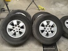 Hilux wheels 4x4 Broadford Mitchell Area Preview