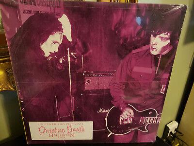 Christian Death - Halloween 1981 LP pink vinyl Cleopatra Records Rozz Williams
