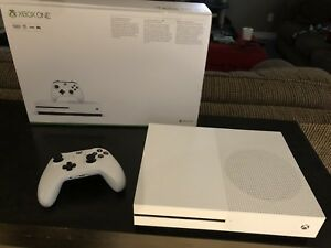 Xbox One S, like new in box.