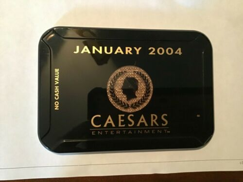 Caesars Entertainment (6 casinos) Las Vegas NV giant casino NCV plaque 2004