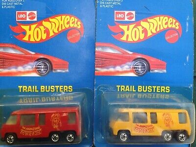 GMC Motorhome Spider-Man Red & Yellow Hot Wheels India Leo Set
