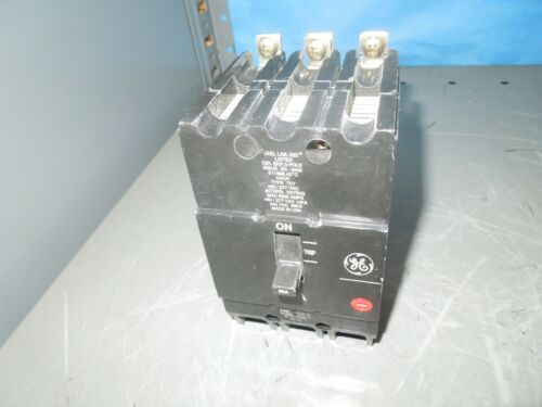 Ge Tey360 60a 3p 480v Circuit Breaker Used