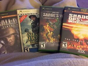 Xbox game lot of 4 games one price!!
