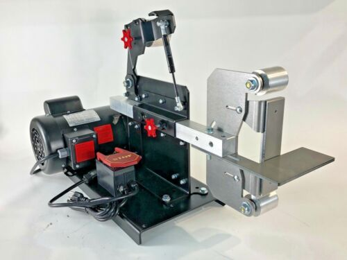 2x72 BELT GRINDER with MOTOR, BASE & TOOL REST