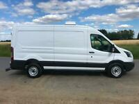 66 REG FORD TRANSIT ULEZ COMPLIANT TWIN COMPARTMENT FRIDGE FREEZER LWB PANEL VAN