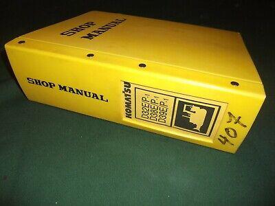 Komatsu D32e-1 D32p-1 D38e-1 D38p-1 D39e-1 Dozer Service Shop Repair Manual