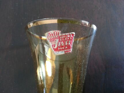 Antique Bohemian crystal glassware.  Pick up/send for extra  Glamorgan Vale Ipswich City Preview