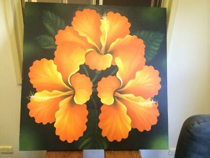 Frangipani painting Glendenning Blacktown Area Preview