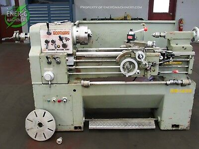 Goodway 14 X 33 Gap Bed Engine Lathe Id L-048
