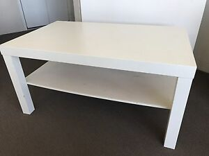 White coffee table Brighton-le-sands Rockdale Area Preview