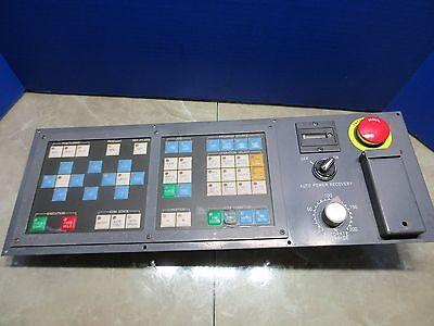 Fanuc Elox Edm Operator Control Panel N86d-3130-r00101 Handa A86l-001-0142a