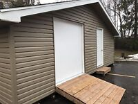 Custom built sheds and garages