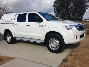 2013 Toyota Hilux Dual Cab Ute 4 x 4 Outer Shepparton Preview