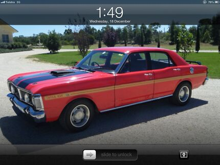 1972 XY GT Ford Fairmont Sedan West Wyalong Bland Area Preview