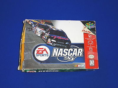 NASCAR 99 (Nintendo 64, 1998) Cartridge Still Wrapped!