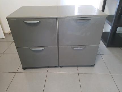 Dark grey drawers