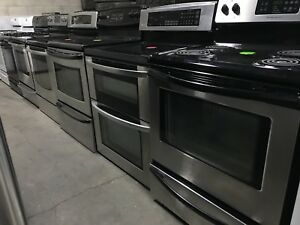 Used Stainless stoves and sets