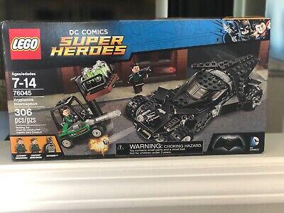 Lego Batman DC Comics Super Heroes 76045 Kryponite Interception