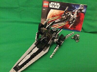 LEGO Star Wars (7915) Imperial V Wing Starfighter & (8083) Rebel Trooper Battle