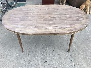 Kitchen table with removable leaf, open to offers