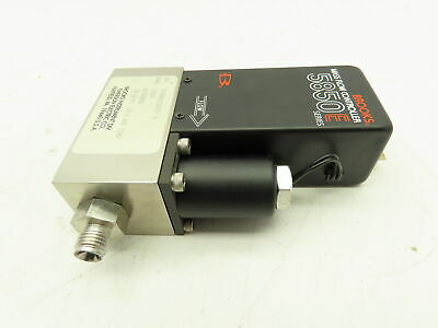 Brooks 5850e Mass Flow Controller Sensor Nitrogen 20 Slpm Card Edge Connector