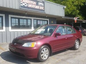 2003 Honda CIVIC SPECIAL EDITION CERTIFIED ETESTED ONLY $1799+ta