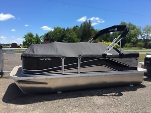 Huge selection of in stock pontoon boat's!