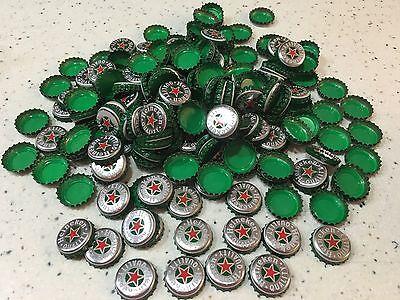 Heineken Beer Bottle Caps No Dents Quantity 100