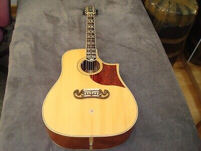 Used Handmade Acoustic Guitar