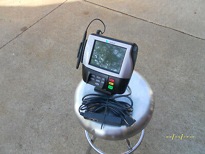 Verifone Mx 880 Credit Card Reader Terminal Machine - Stand - Pen