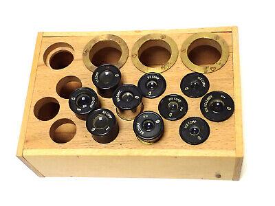 Cts Assorted Microscope Eyepieces 4x 6x 10x Comp 10x Kellner W Box 10pcs