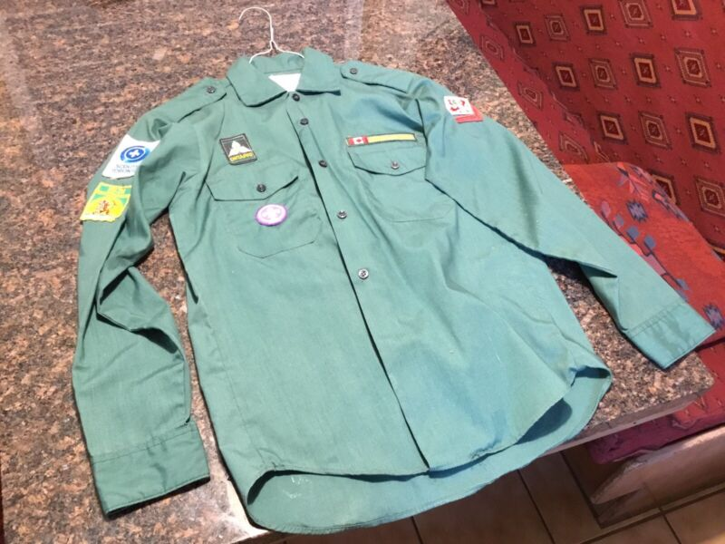 Vintage Boys Scouts Canada Shirt