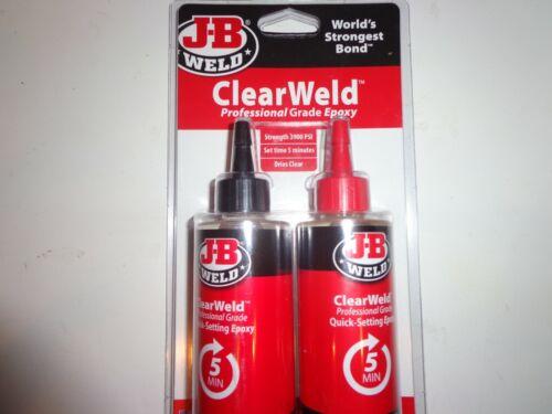 J-B Weld Clear Weld High Strength Epoxy 8 oz.
