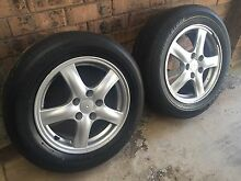 2007 Honda Accord Euro Genuine Alloy wheels Rooty Hill Blacktown Area Preview