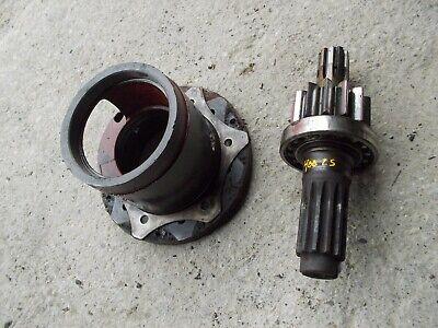 Farmall 400 450 Ih Tractor Original Left Inner Brake Drive Gear Bearing Holder