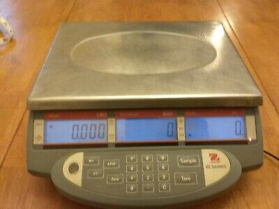Ohaus Ec30 Ec Series Digital Bench Scale 30000g60lbs